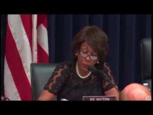 Maxine Waters' HEATED EXCHANGE with Treasury Secretary Steven Mnuchin