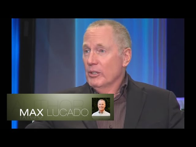 Author Max Lucado Bible Studies Sermons - 'The Burden of Grief'